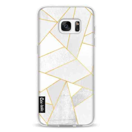 Casetastic Softcover Samsung Galaxy S7 Edge - White Stone