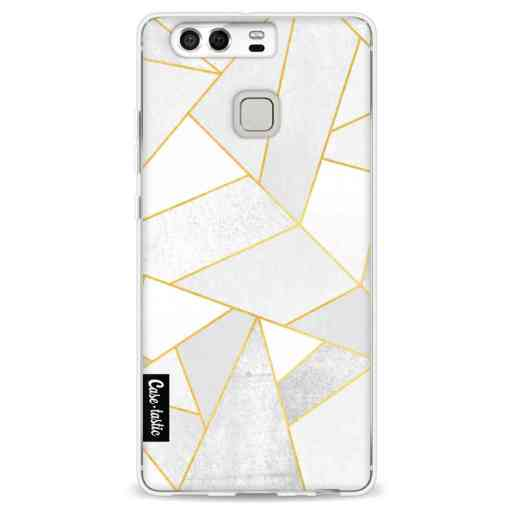 Casetastic Softcover Huawei P9  - White Stone