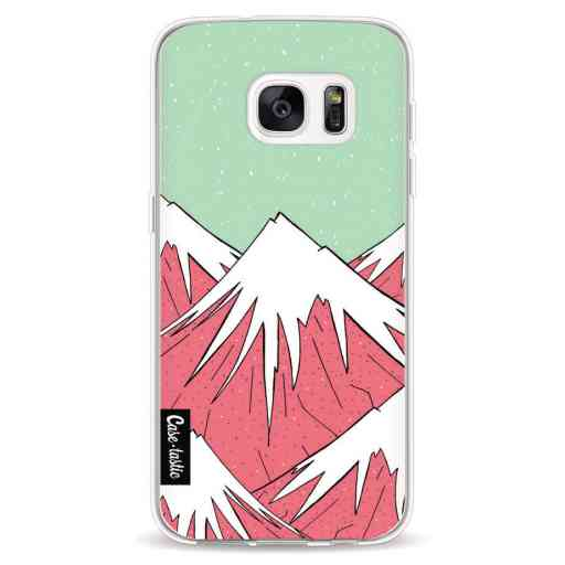 Casetastic Softcover Samsung Galaxy S7 - The Mountains and the Stars