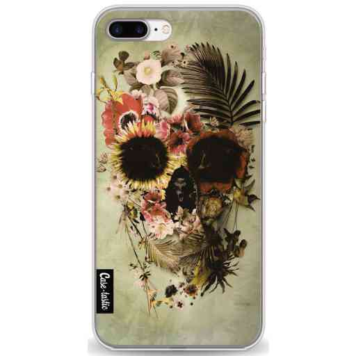 Casetastic Softcover Apple iPhone 7 Plus / 8 Plus - Garden Skull Light