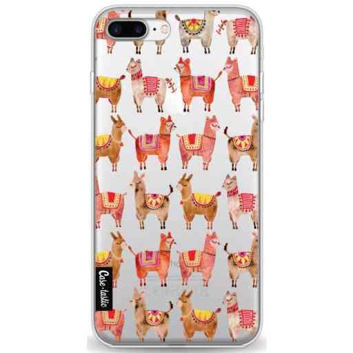 Casetastic Softcover Apple iPhone 7 Plus / 8 Plus - Alpacas