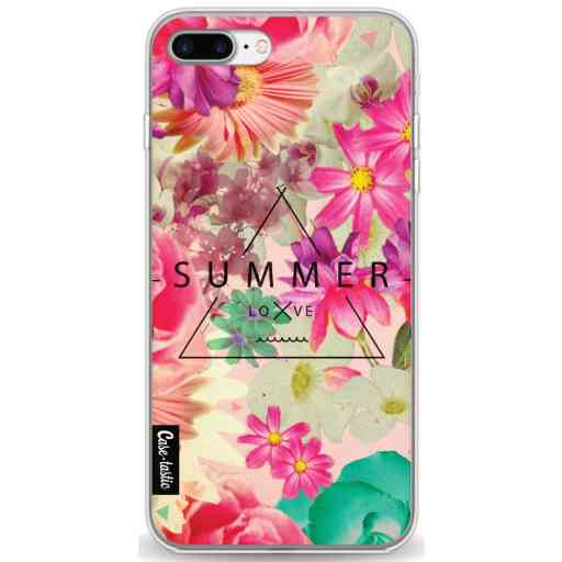 Casetastic Softcover Apple iPhone 7 Plus / 8 Plus - Summer Love Flowers