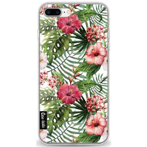 Casetastic Softcover Apple iPhone 7 Plus / 8 Plus - Tropical Flowers