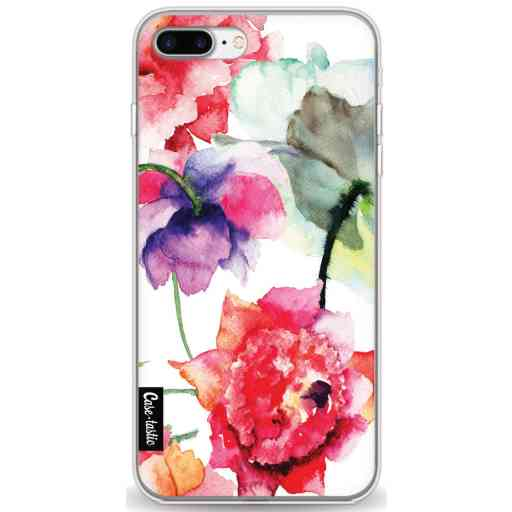 Casetastic Softcover Apple iPhone 7 Plus / 8 Plus - Watercolor Flowers