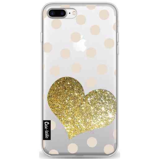 Casetastic Softcover Apple iPhone 7 Plus / 8 Plus - Glitter Heart