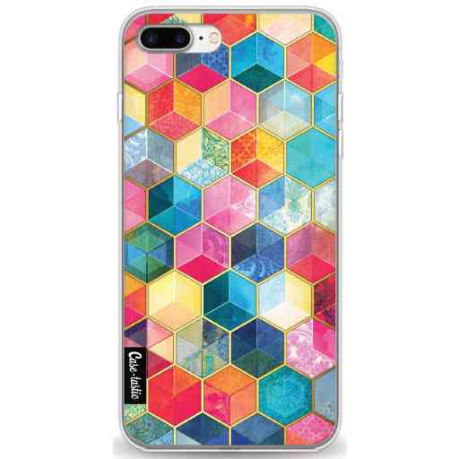 Casetastic Softcover Apple iPhone 7 Plus / 8 Plus - Bohemian Honeycomb