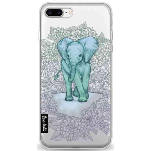 Casetastic Softcover Apple iPhone 7 Plus / 8 Plus - Emerald Elephant