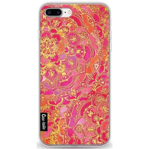 Casetastic Softcover Apple iPhone 7 Plus / 8 Plus - Hot Pink Barroque