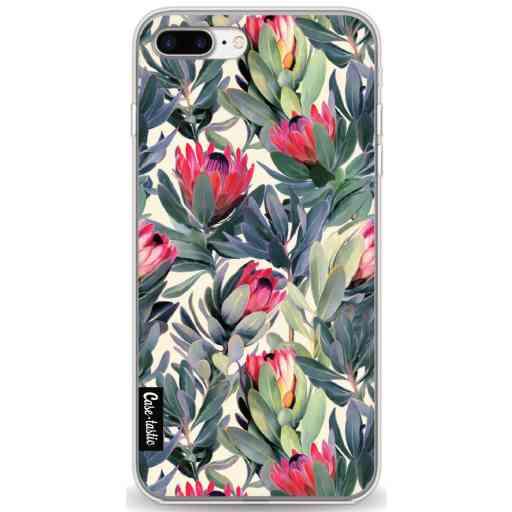 Casetastic Softcover Apple iPhone 7 Plus / 8 Plus - Painted Protea