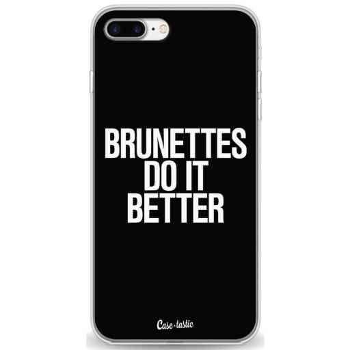 Casetastic Softcover Apple iPhone 7 Plus / 8 Plus - Brunettes Do It Better