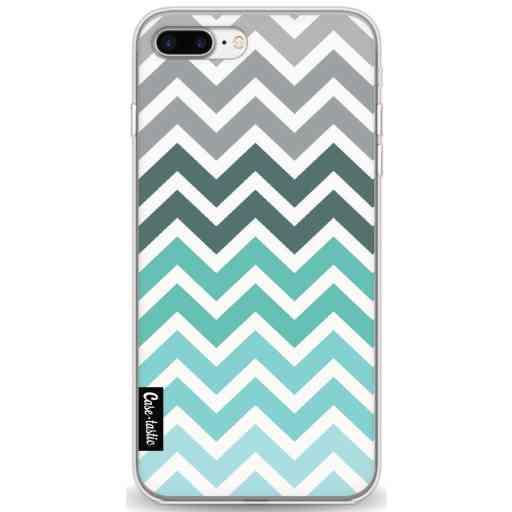 Casetastic Softcover Apple iPhone 7 Plus / 8 Plus - Tiffany Fade Chevron