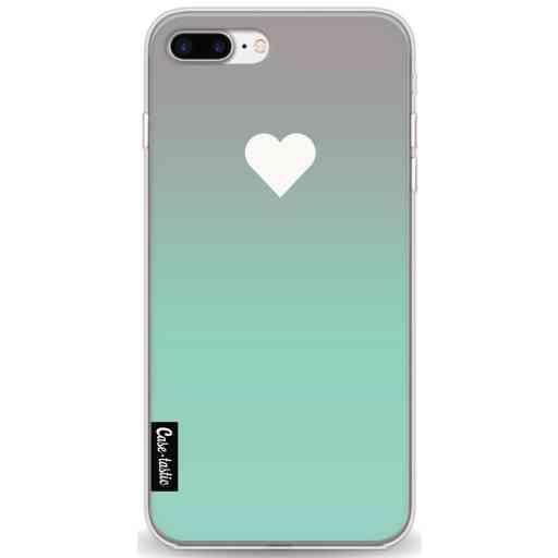 Casetastic Softcover Apple iPhone 7 Plus / 8 Plus - Tiffany Heart Fade