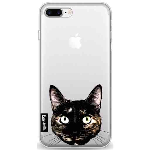 Casetastic Softcover Apple iPhone 7 Plus / 8 Plus - Peeking Kitty