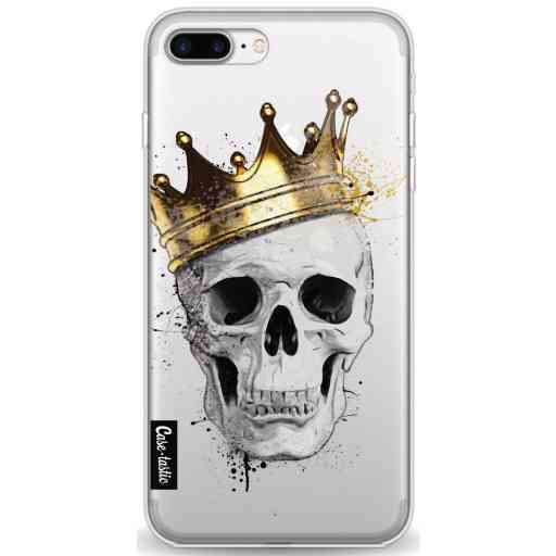 Casetastic Softcover Apple iPhone 7 Plus / 8 Plus - Royal Skull