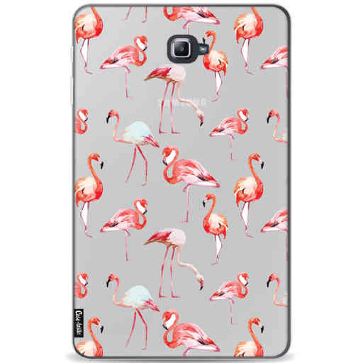Casetastic Softcover Samsung Galaxy Tab A 10.1 (2016) - Flamingo Party