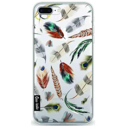 Casetastic Softcover Apple iPhone 7 Plus /  8 Plus - Feathers Multi
