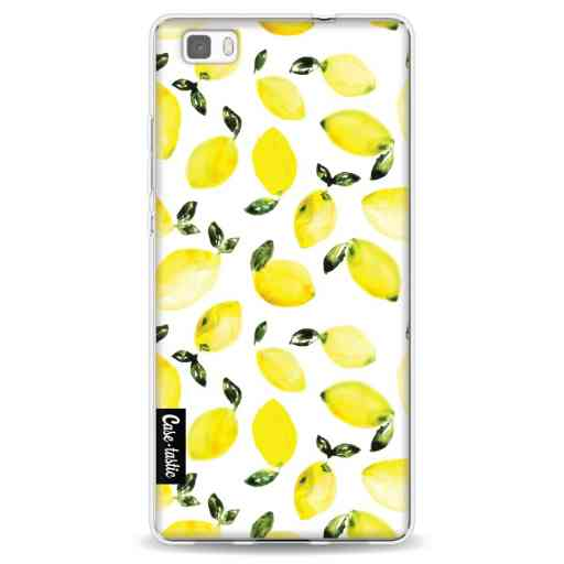 Casetastic Softcover Huawei P8 Lite (2015) - Lemons