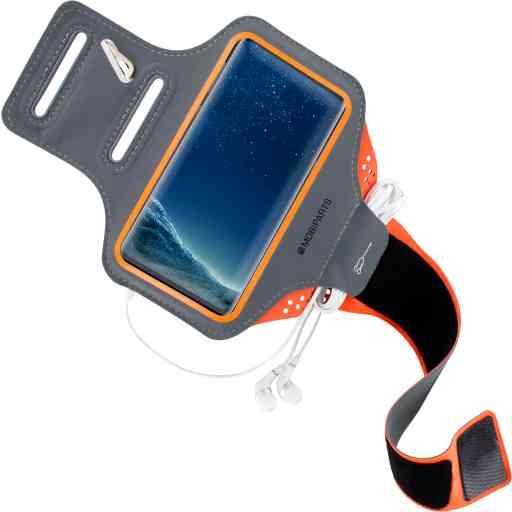 Casetastic Comfort Fit Sport Armband Samsung Galaxy S8 Neon Orange