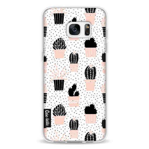 Casetastic Softcover Samsung Galaxy S7 Edge - Cactus Print