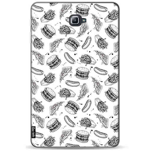Casetastic Softcover Samsung Galaxy Tab A 10.1 (2016) - Drawn Junkfood