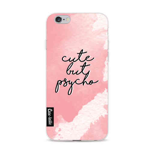 Casetastic Softcover Apple iPhone 6 / 6s  - Cute But Psycho Pink