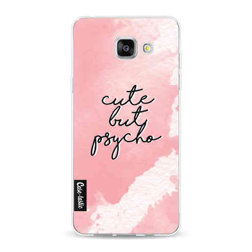 Casetastic Softcover Samsung Galaxy A5 (2016) - Cute But Psycho Pink