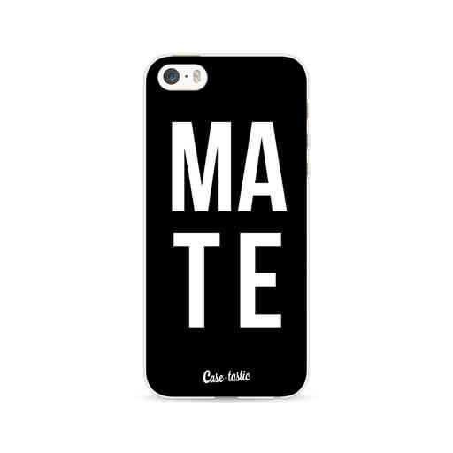 Casetastic Softcover Apple iPhone 5 / 5s / SE - Mate Black