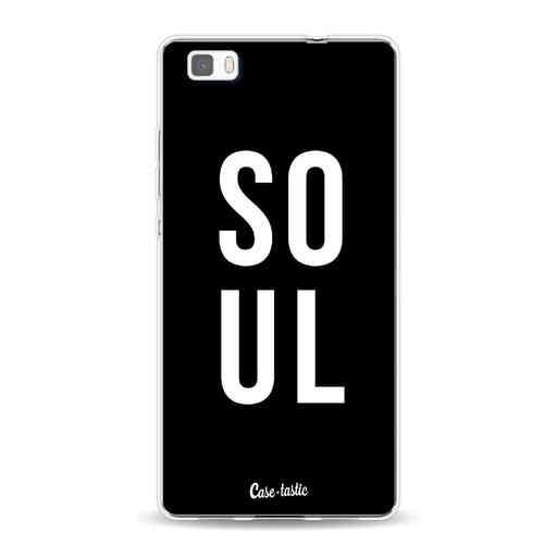 Casetastic Softcover Huawei P8 Lite - Soul Black
