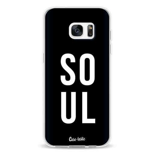 Casetastic Softcover Samsung Galaxy S7 Edge - Soul Black
