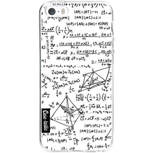 Casetastic Softcover Apple iPhone 5 / 5s / SE - You Do The Math White