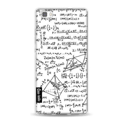 Casetastic Softcover Huawei P8 Lite (2015) - You Do The Math White