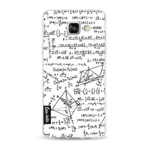Casetastic Softcover Samsung Galaxy A5 (2016) - You Do The Math White