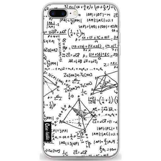 Casetastic Softcover Apple iPhone 7 Plus / 8 Plus - You Do The Math White