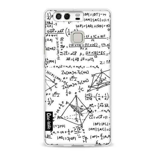 Casetastic Softcover Huawei P9  - You Do The Math White