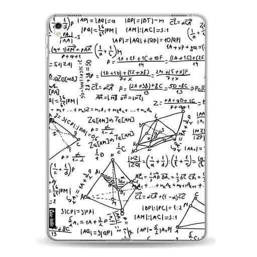 Casetastic Softcover Apple iPad Pro 9.7 - You Do The Math White