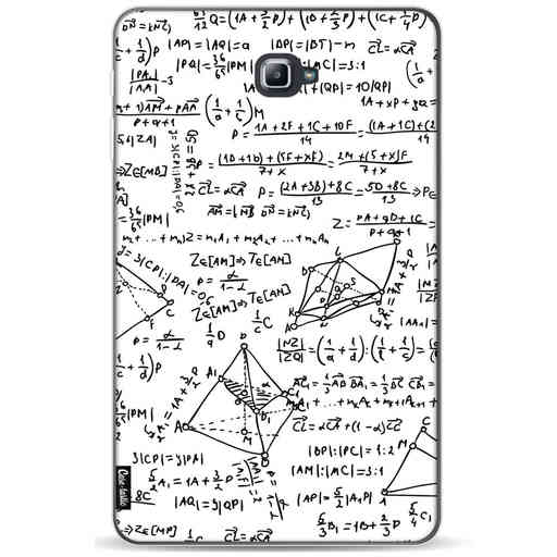Casetastic Softcover Samsung Galaxy Tab A 10.1 (2016) - You Do The Math White