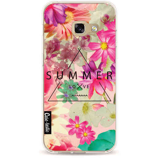 Casetastic Softcover Samsung Galaxy A3 (2017) - Summer Love Flowers