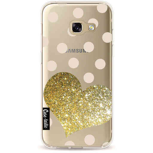 Casetastic Softcover Samsung Galaxy A3 (2017) - Glitter Heart