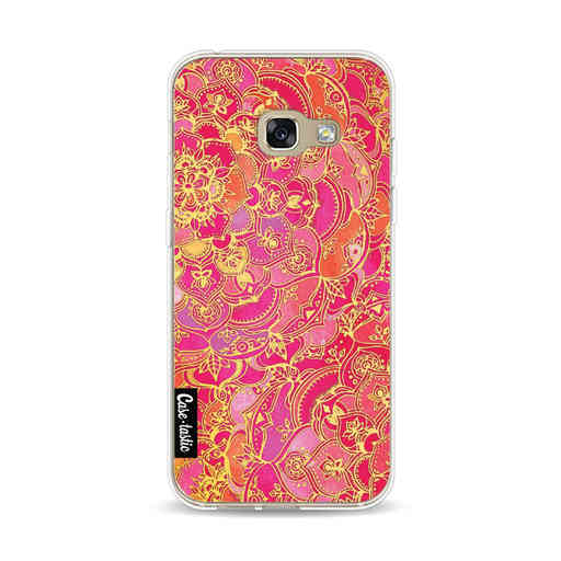 Casetastic Softcover Samsung Galaxy A3 (2017) - Hot Pink Barroque