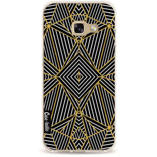 Casetastic Softcover Samsung Galaxy A3 (2017) - Abstraction Half Gold