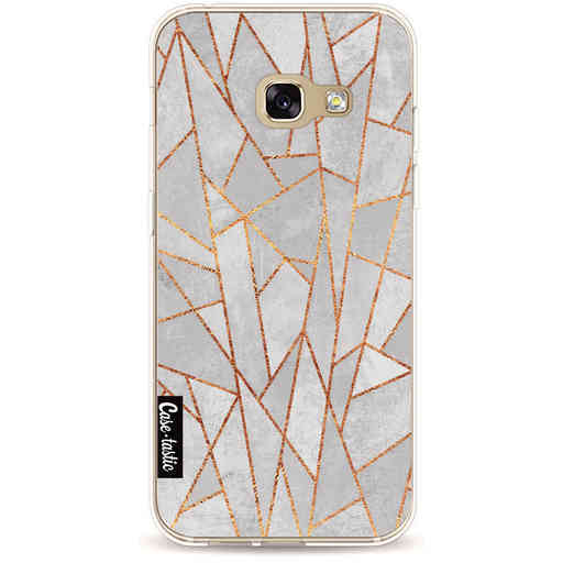 Casetastic Softcover Samsung Galaxy A3 (2017) - Shattered Concrete
