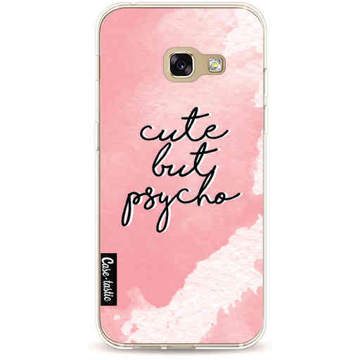 Casetastic Softcover Samsung Galaxy A3 (2017) - Cute But Psycho Pink
