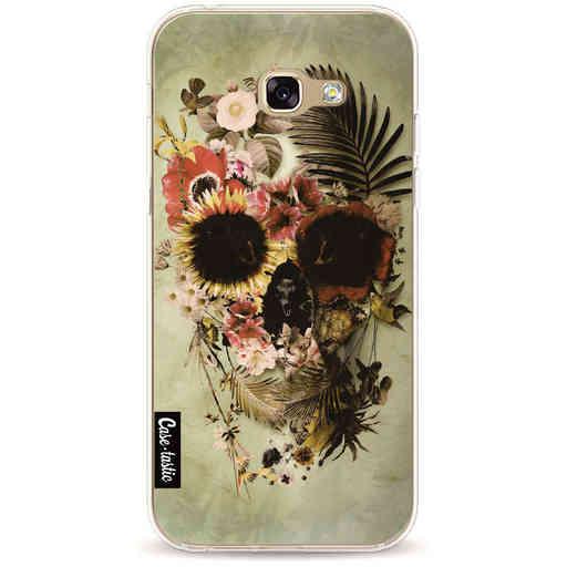 Casetastic Softcover Samsung Galaxy A5 (2017) - Garden Skull Light