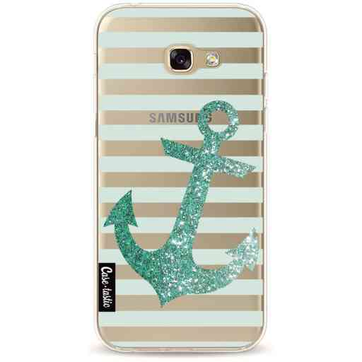 Casetastic Softcover Samsung Galaxy A5 (2017) - Glitter Anchor Mint