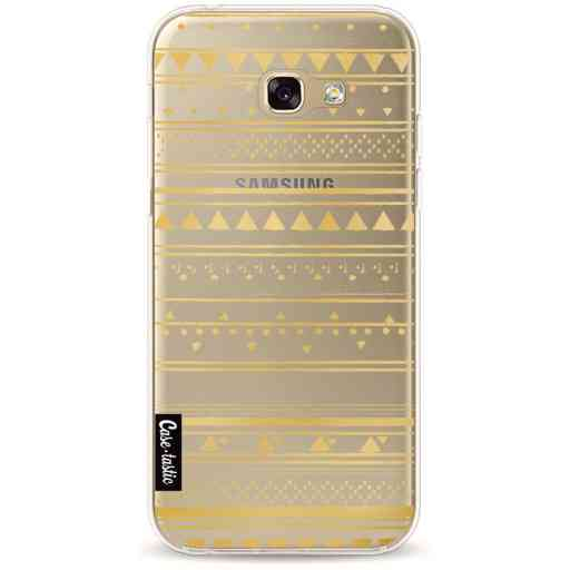 Casetastic Softcover Samsung Galaxy A5 (2017) - Gold Tribal