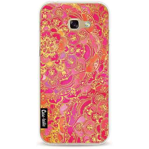 Casetastic Softcover Samsung Galaxy A5 (2017) - Hot Pink Barroque