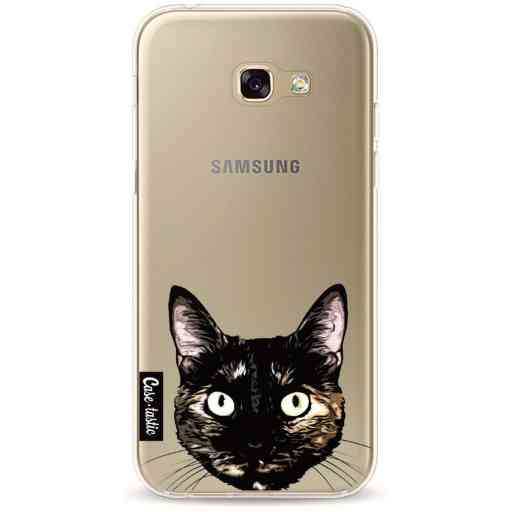 Casetastic Softcover Samsung Galaxy A5 (2017) - Peeking Kitty