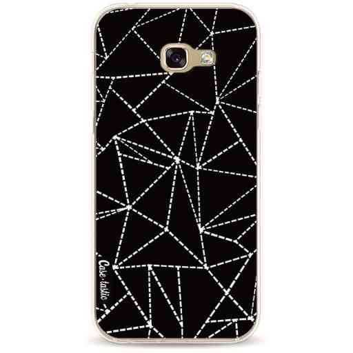 Casetastic Softcover Samsung Galaxy A5 (2017) - Abstract Dotted Lines Black