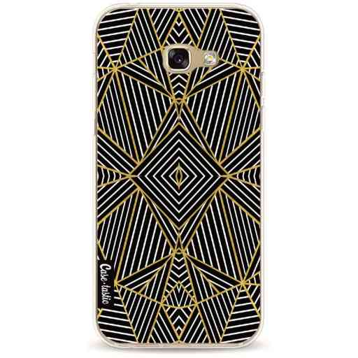 Casetastic Softcover Samsung Galaxy A5 (2017) - Abstraction Half Gold
