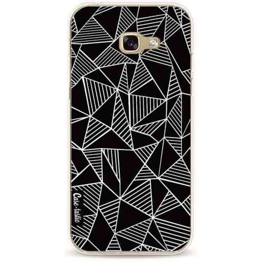Casetastic Softcover Samsung Galaxy A5 (2017) - Abstraction Lines Black